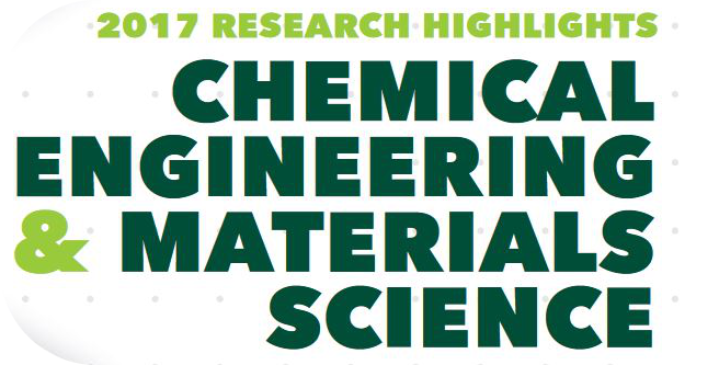 "Graphic MSU ""Chemical Engineering & Materials Science Research Highlights 